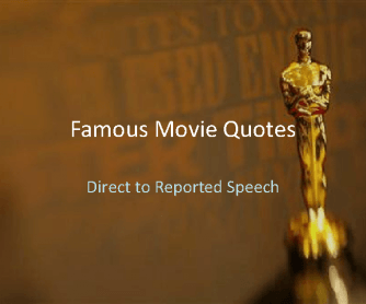 Famous Movie Quotes: PowerPoint Quiz [Part 1]
