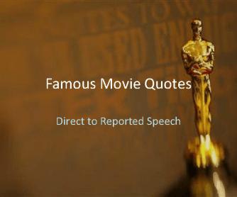 Famous Movie Quotes: PowerPoint Quiz [Part 1]