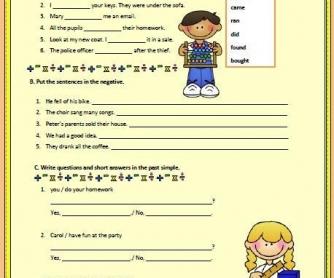 Past Simple: Irregular Verbs