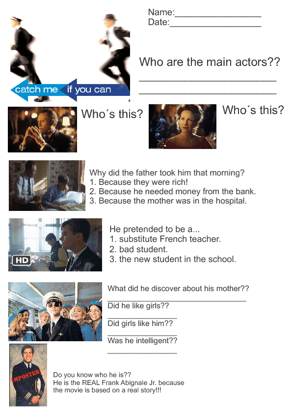 movie lesson catch me if you can