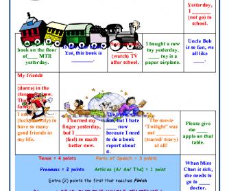 Grammar Revision Board Game