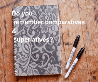 Comparatives & Superlatives Presentation