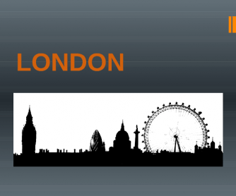 London Powerpoint Presentation