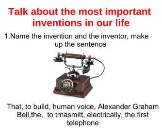 Inventions: Past Tenses + Giving Opinion