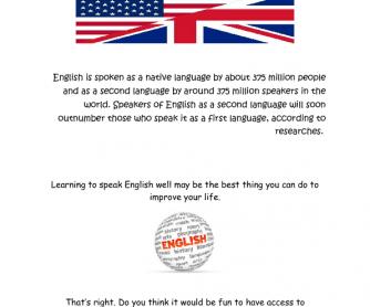 Learning English: Speaking Activity