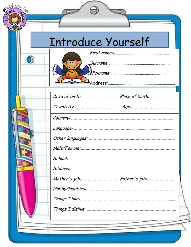 creative ways to introduce yourself in an essay Introduce yourself, please introduce yourselves in the comments i enjoy being creative and i took a detective fiction class in high school and since then.