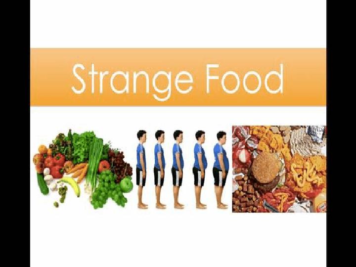 strange foods around the world