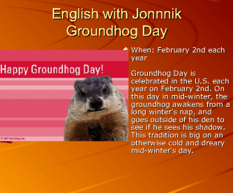 Groundhog Day Presentation