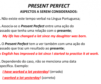 Present Perfect Well Explained [for Portuguese Speakers]