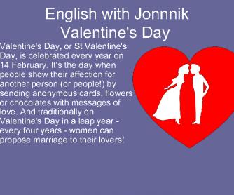 Valentine's Day Presentation
