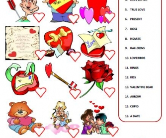 Saint Valentine's Day Worksheet