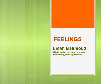 Feelings [Flashcards]