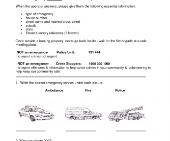 Worksheets Free Fire Safety Worksheets 12 free fire safety for kids lesson plans worksheets rules phoning in an emergency