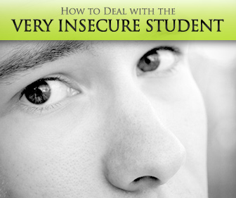 So Sorry to Keep Bothering You: Dealing with the Very Insecure Student