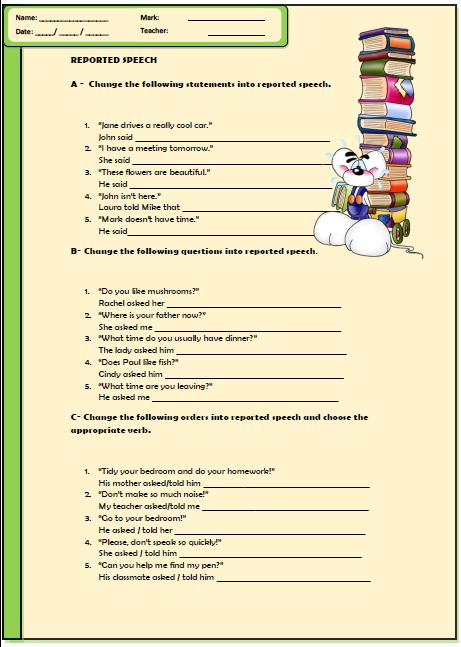 Parts Of Speech   Lessons   Tes Teach Parts of Speech Worksheets