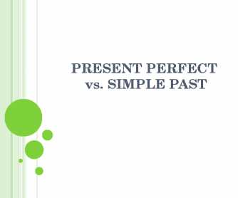 Present Perfect vs. Past Simple Presentation