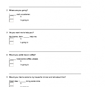 Simple Future Worksheet