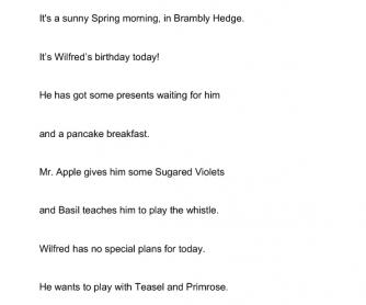 Brambly Hedge: Spring Story