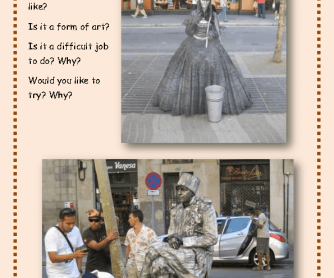 Unusual Jobs: Living Statues