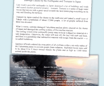 Fukushima: Natural Disaster 11.03.11.