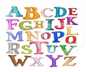 Alphabet PPT
