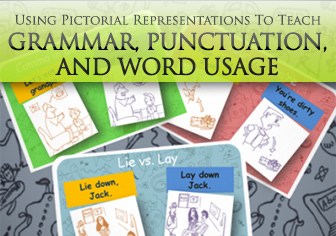 Using Pictorial Representations To Teach Rules Of Grammar, Punctuation, And Word Usage
