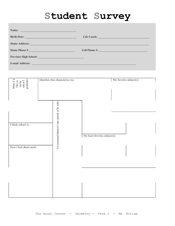 surveys to get to know someone get to know your students student survey 608