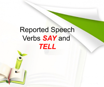 Reported Speech - Say and Tell Presentation
