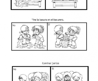 Printables Classroom Rules Worksheet rules in spanish classroom spanish