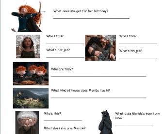 Movie Worksheet: Brave