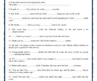 Selective Grammar Activities