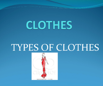 Types of Clothes