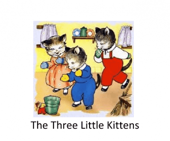The Three Little Kittens, PowerPoint