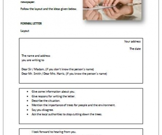 Writing a formal letter altavistaventures Choice Image