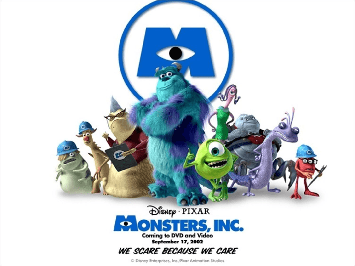 Movie Worksheet: Monsters Inc Trailer