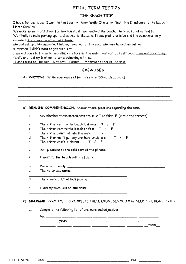 31 Free July Worksheets For Your Esl Classes