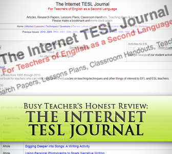 The Internet TESL Journal: BusyTeacher's Detailed Review