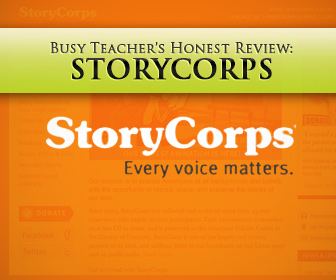 StoryCorps: BusyTeacher's Detailed Review