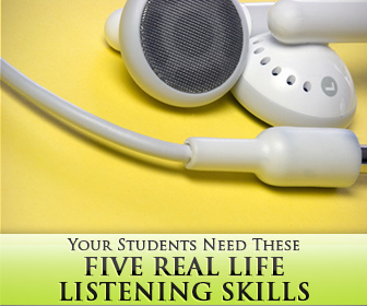 5 Real Life Listening Skills Your Students Need