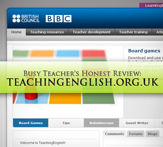 Teachingenglish.org.uk: BusyTeacher's Detailed Review