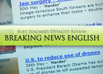 Breakingnewsenglish.com: BusyTeacher's Detailed Review