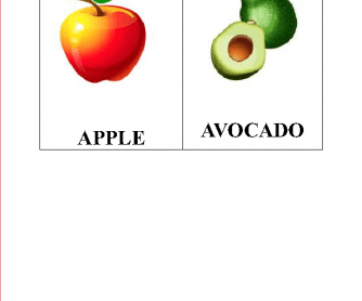 Fruit (Flashcards)