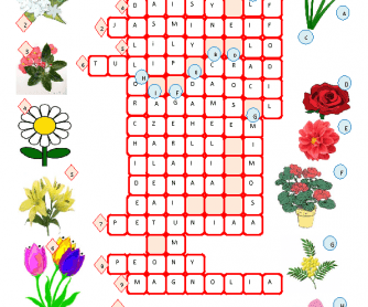 Flowers Crossword