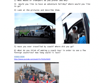 Video Worksheet: Oz-Bus Tour