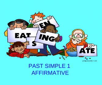 Past Simple 1/2: Affirmative (21 Slides)