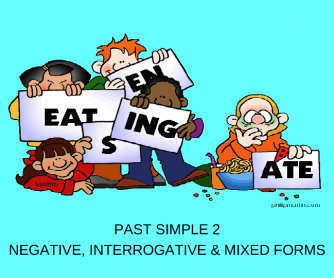 Past Simple 2/2: Negative, Interrogative & Mixed Forms (28 Slides)