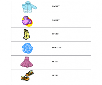 Clothes [Full Lesson Plan]