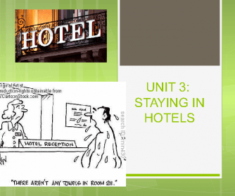 Staying in Hotels