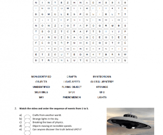 Video Worksheet: The Truth Behind UFOs