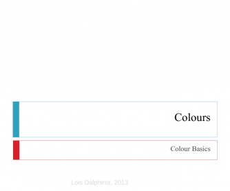 Colour Basics